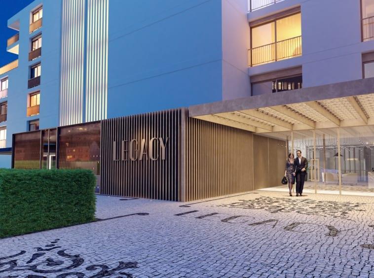 legacy cascais condominio piscina luxo